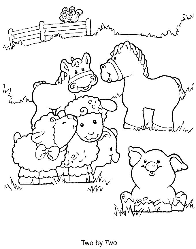 free farm animal coloring pages at getdrawings free