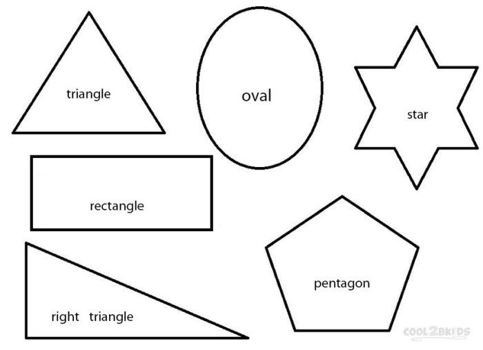 free free coloring pages shape picture color shapes coloring