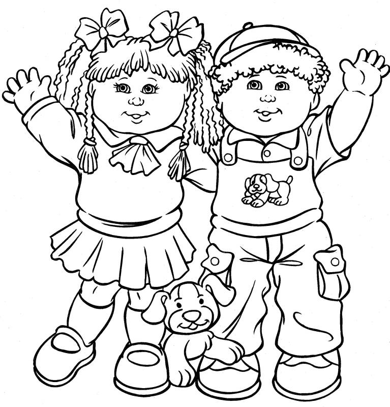free friendship coloring page download free clip art free