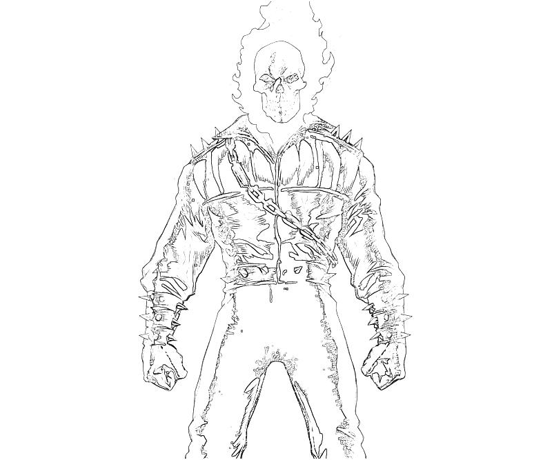 free ghost rider coloring page download free clip art free
