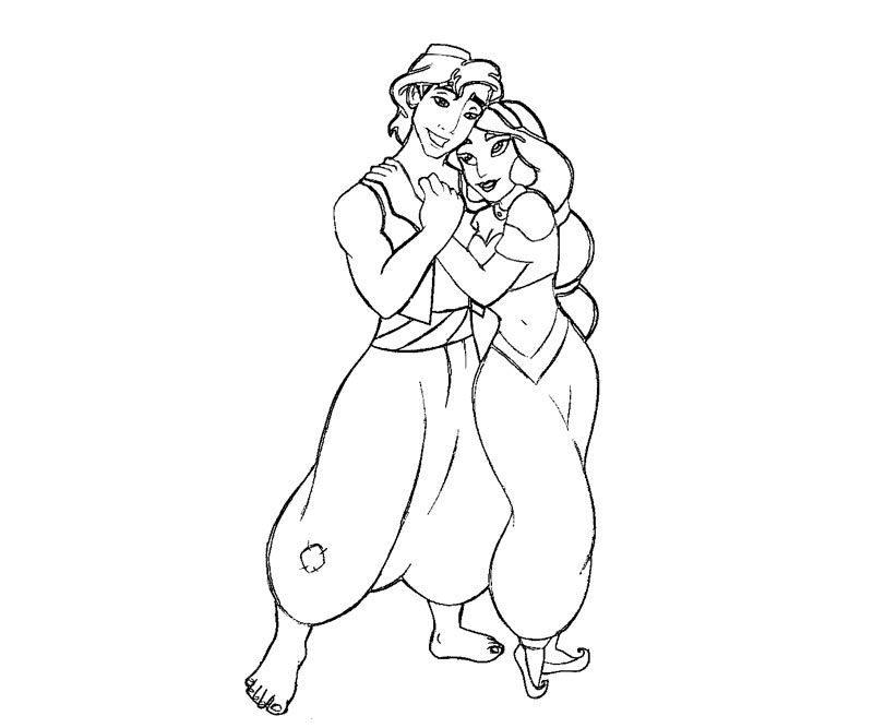 free jasmine aladdin coloring pages download free clip art