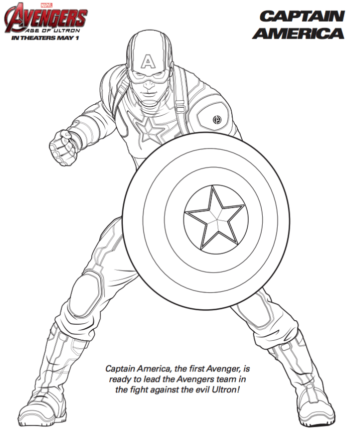 free marvel avengers coloring pages superhelden