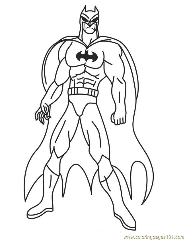 Superheroes Coloring Pages Idea - Whitesbelfast.com