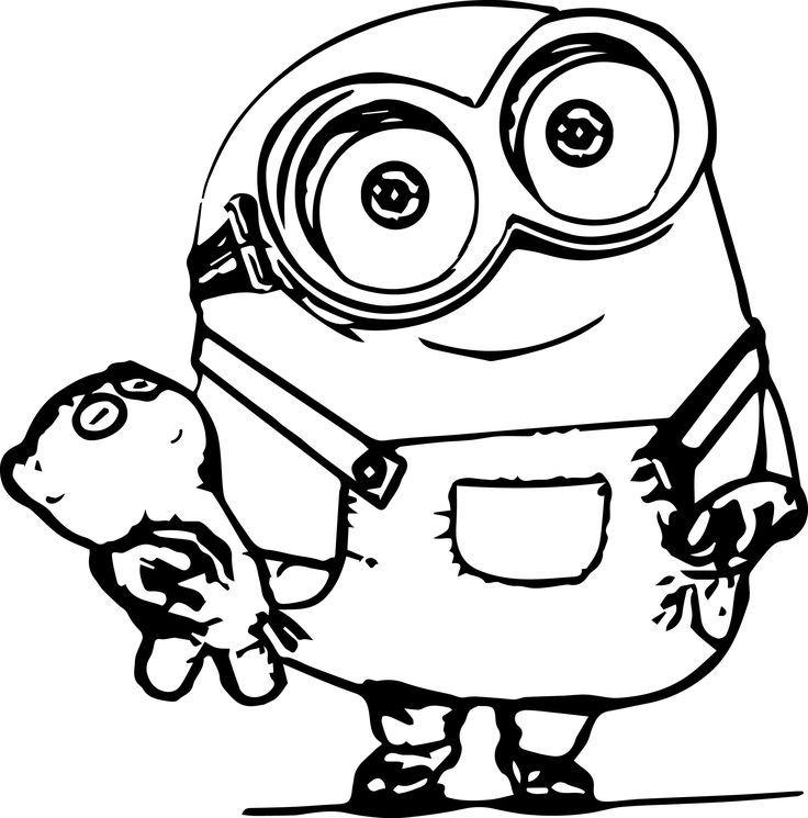 free minions coloring page printable nimm deine buntstifte