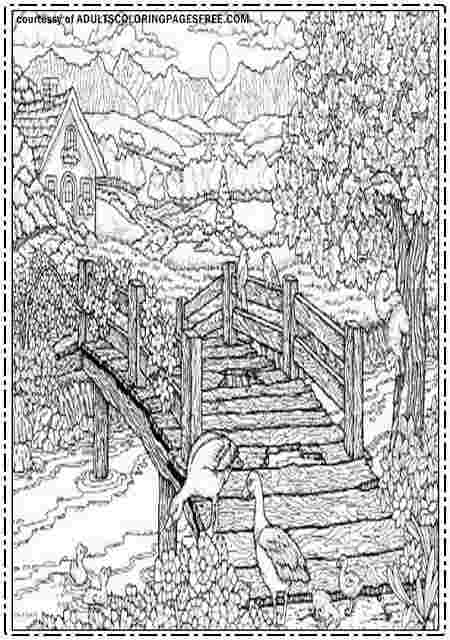 free nature coloring pages for adults free printable