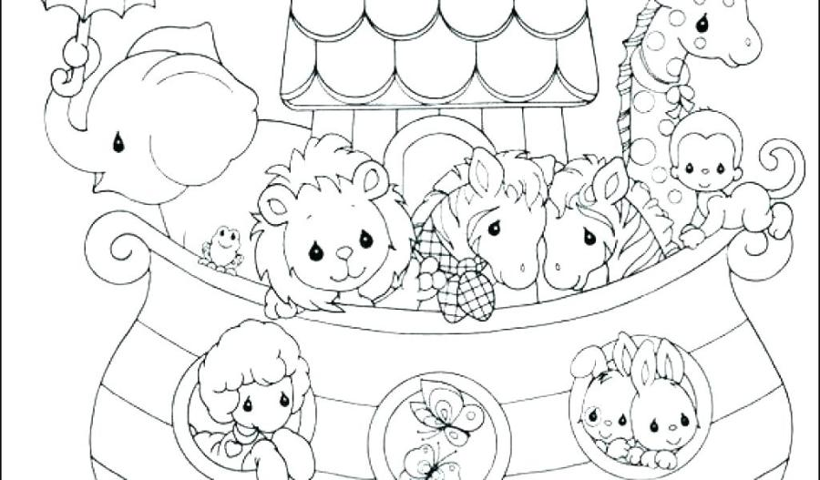 free noahs ark coloring pages at getdrawings free for