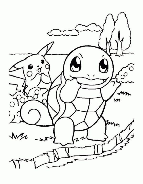 free pokemon pikachu coloring pages for kids pokemon