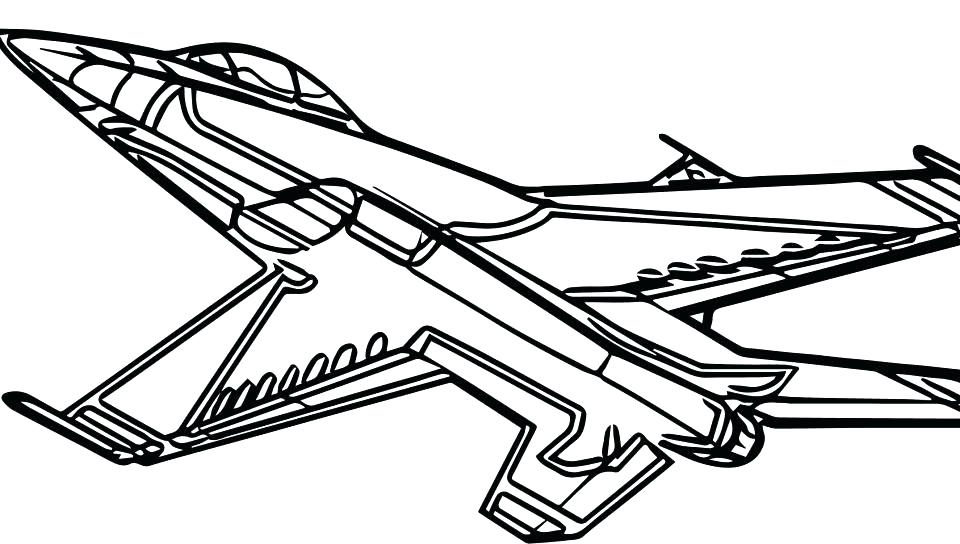 Plane Coloring Pages Gallery - Whitesbelfast