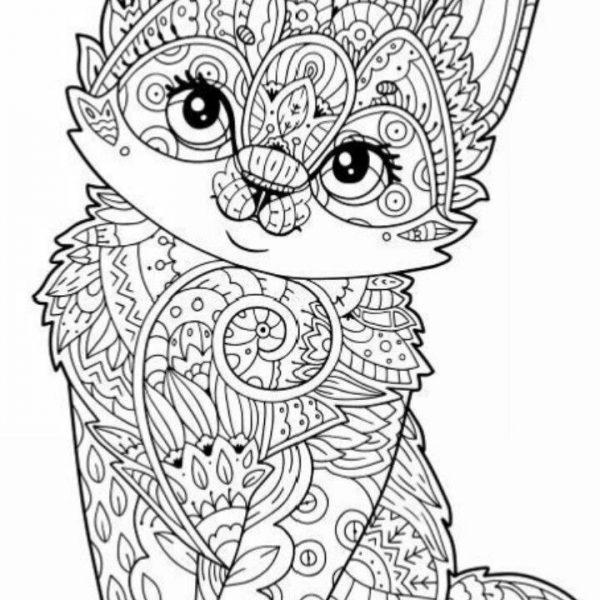 free printable animal coloring pages for adultsowl mandala