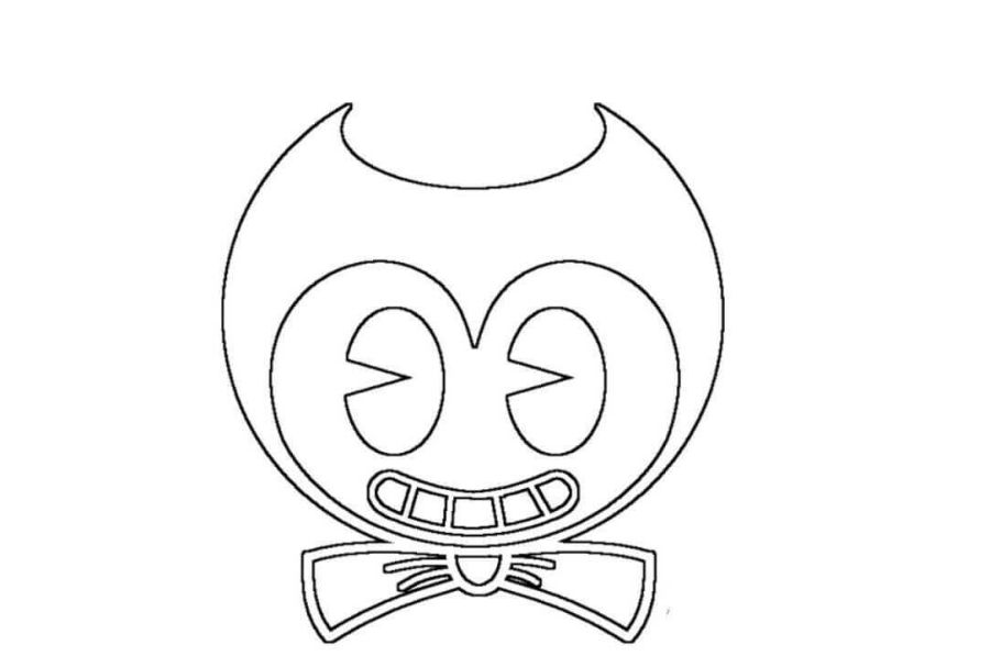 free printable bendy and the ink machine coloring pages