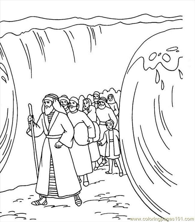 free printable bible coloring pages moses clip art library
