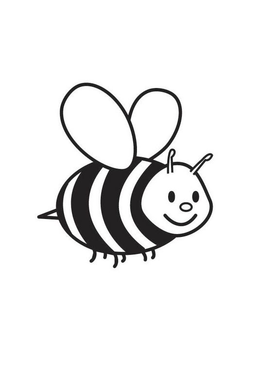 free printable bumble bee coloring pages for kids bee