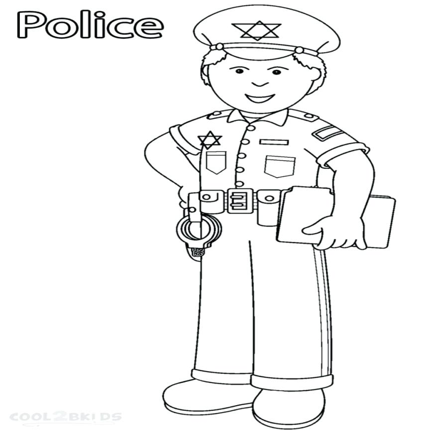Community Helpers Coloring Pages Gallery Whitesbelfast