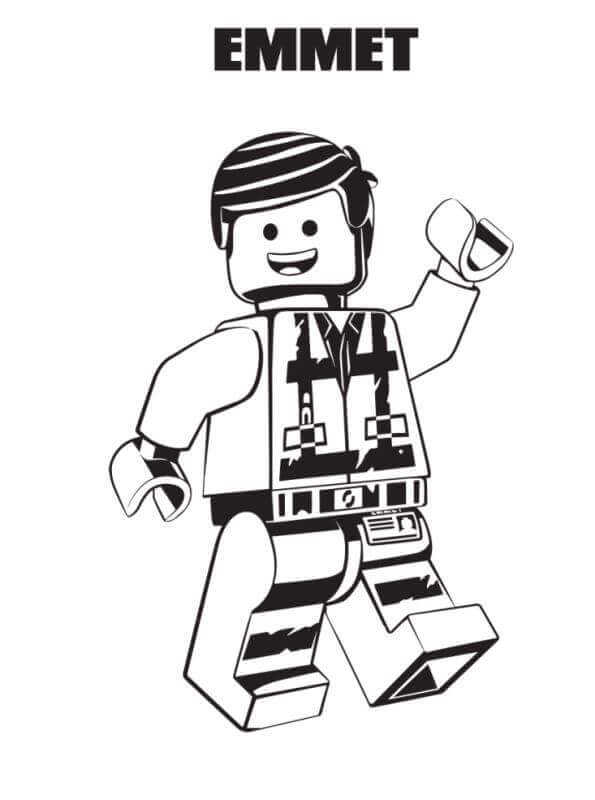 free printable coloring pages lego movie 2 pusat hobi