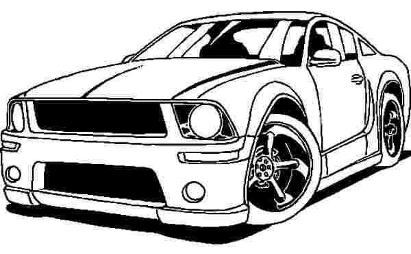 free printable coloring pages mustang car printable hot