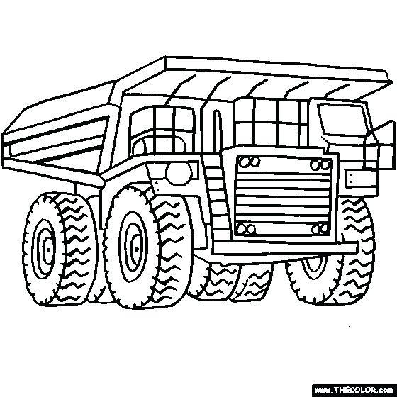 free printable coloring pages of garbage trucks