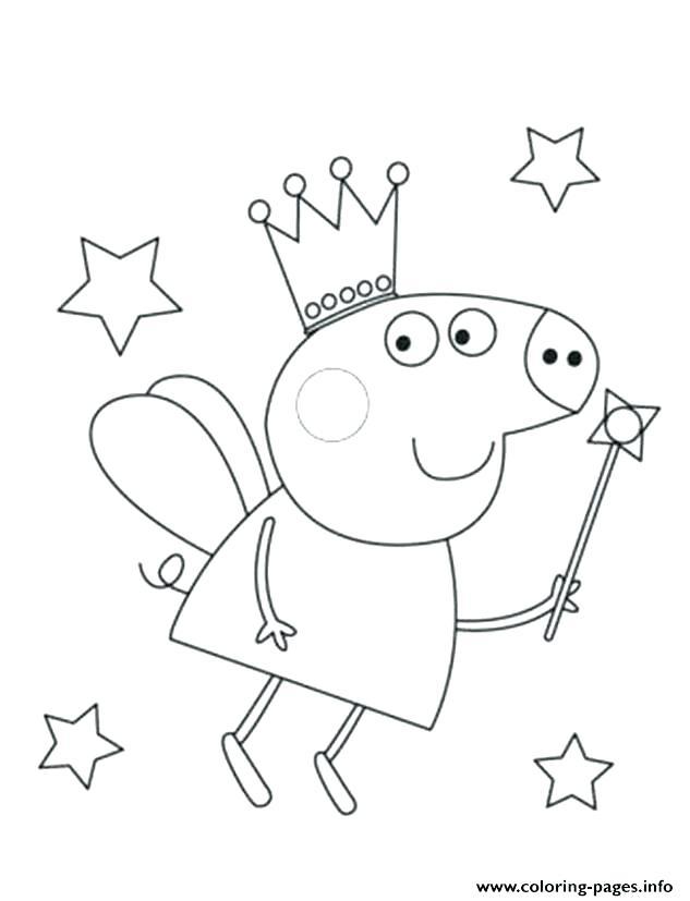 free printable coloring pages peppa pig pusat hobi