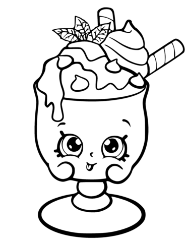free printable coloring sheets shopkins pusat hobi