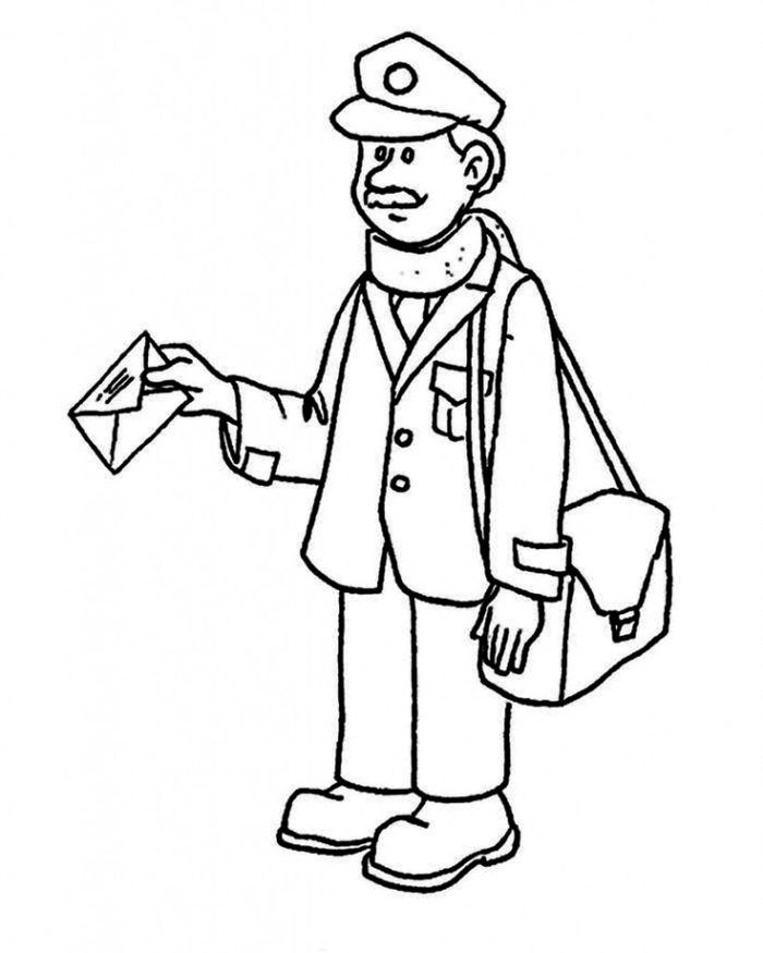 free printable community helper coloring pages for kids