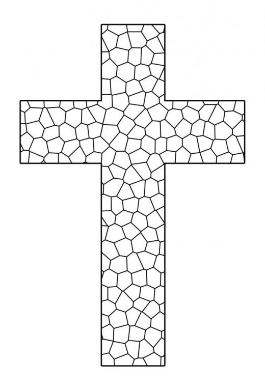 free printable cross coloring pages ausmalbilder