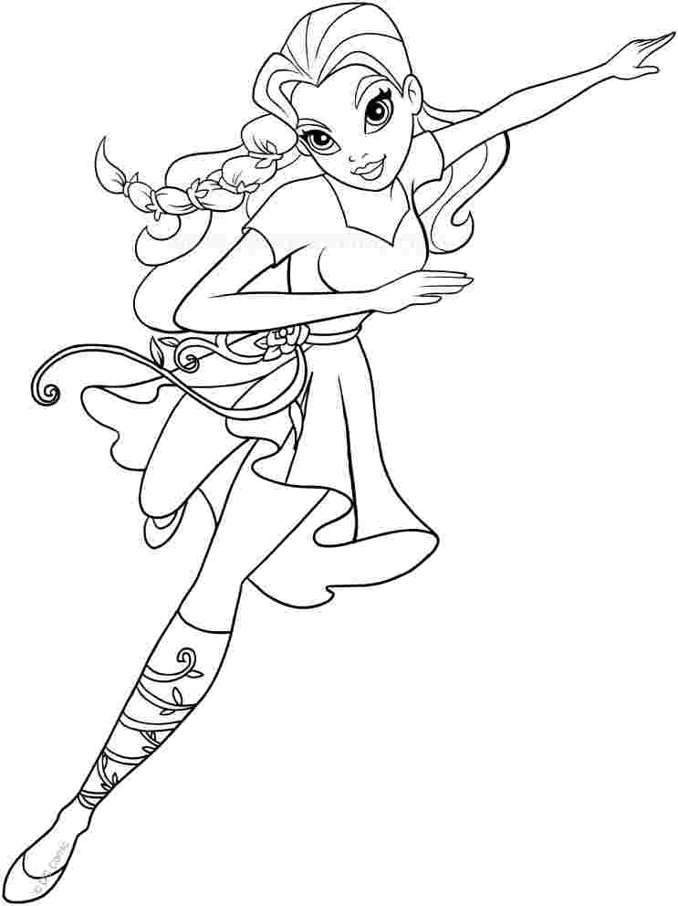 Dc Superhero Girls Coloring Pages Gallery - Whitesbelfast