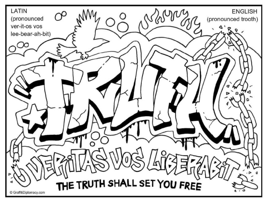 free printable graffiti coloring pagemulticultural artt for