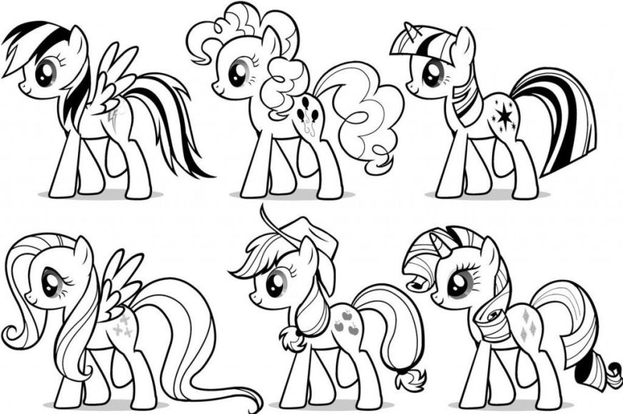 free printable my little pony coloring pages for kids my