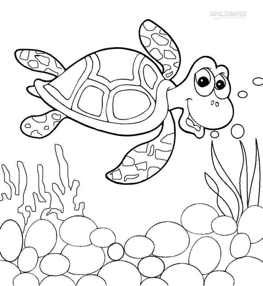 free printable sea turtle coloring pages sea turtle coloring