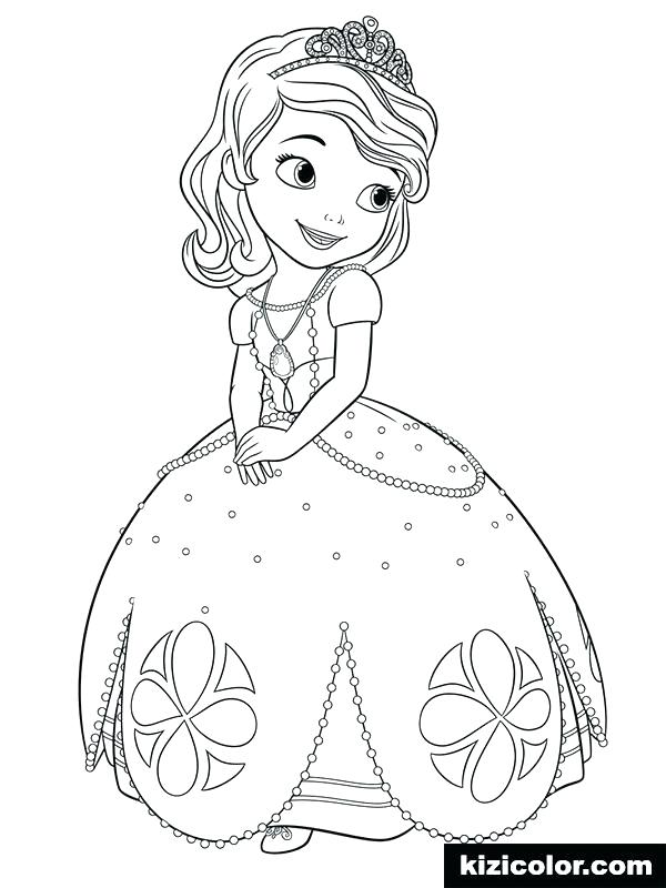 free printable sofia the first coloring pages studyresource