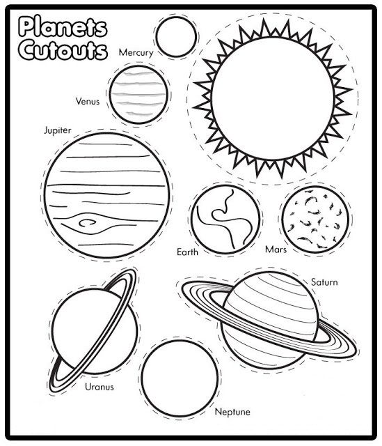 free printable solar system coloring pages for kids solar