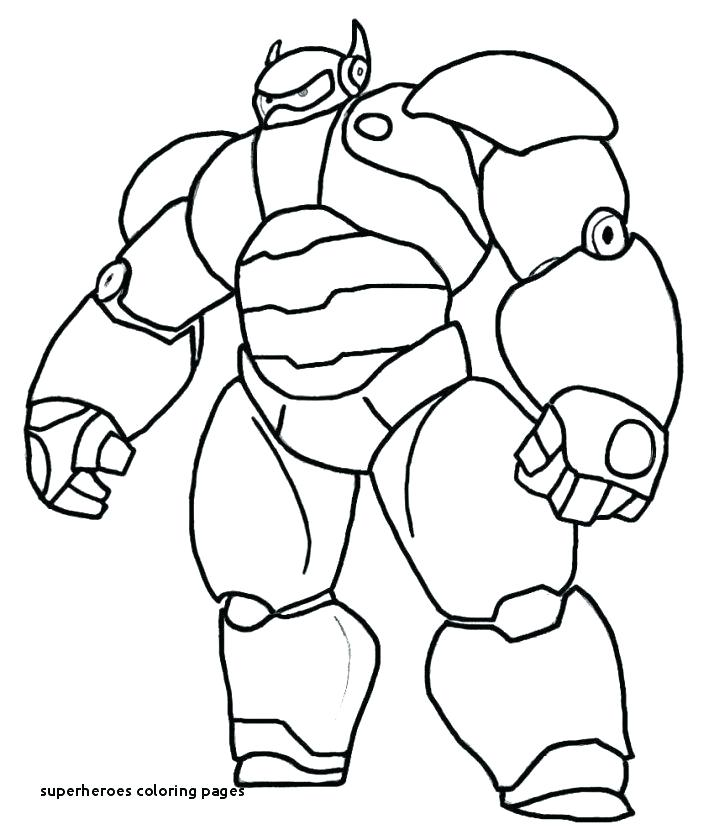 free printable superhero coloring pages barfpro