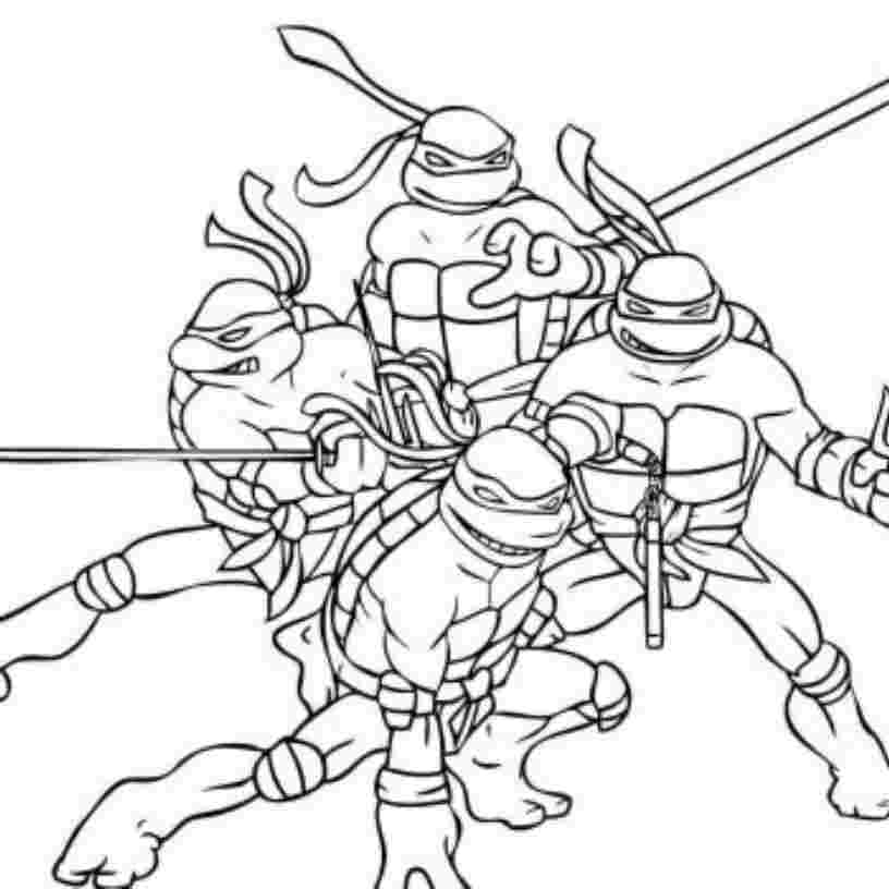- Tmnt Coloring Pages Collection - Whitesbelfast