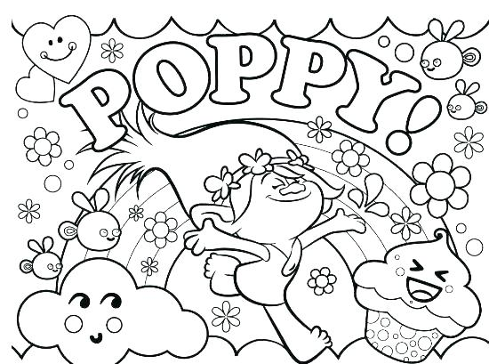 free printable troll coloring pages at getdrawings