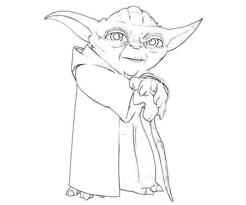 free printable yoda coloring pages wise yoda coloring page