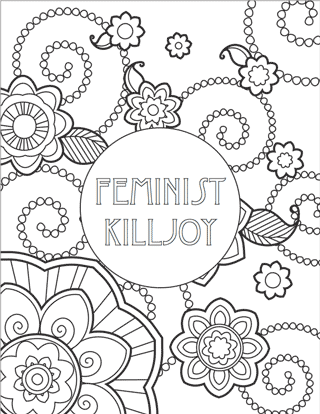 free printables feminist colouring pages coloring pages