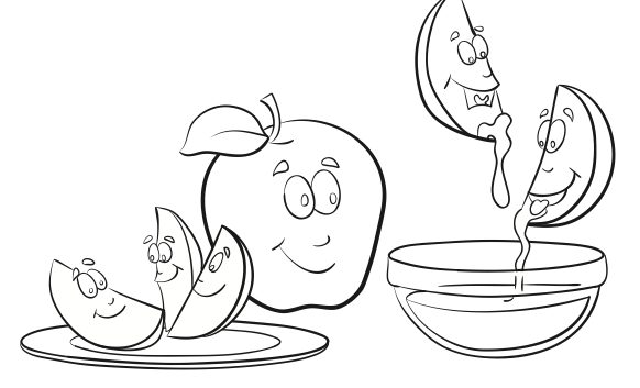 free rosh hashana coloring pages high holy days rosh