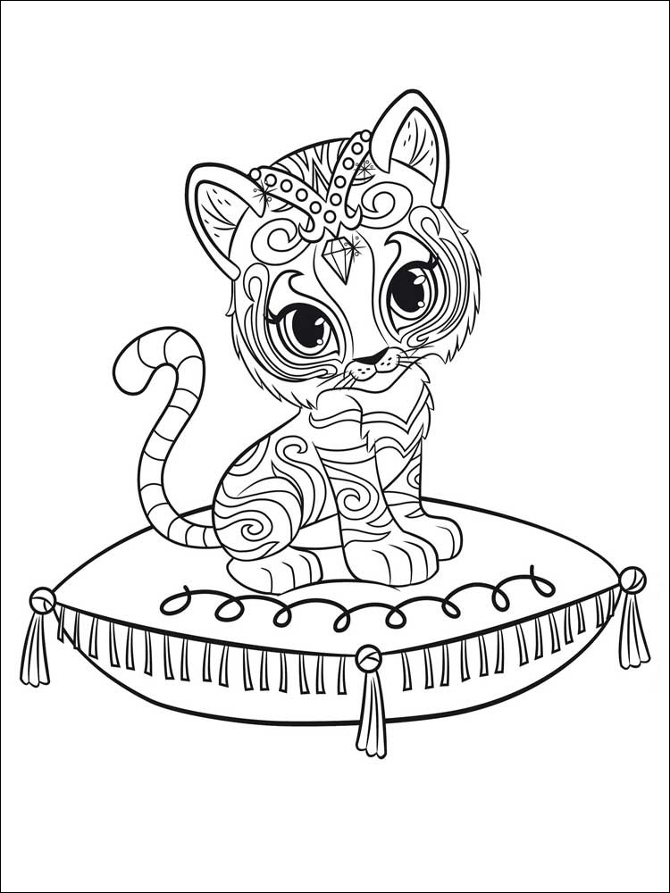 free shimmer and shine coloring page unique photos shimmer