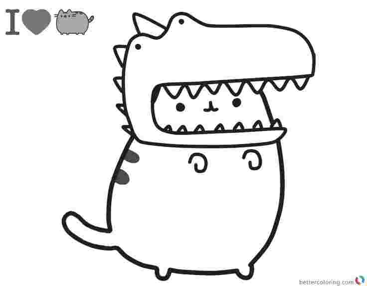 free unicorn cat coloring pages pusheen coloring pages