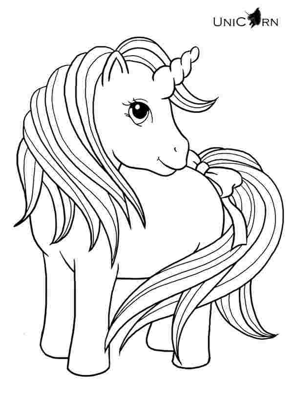free unicorn coloring pages for kindergarten print coloring