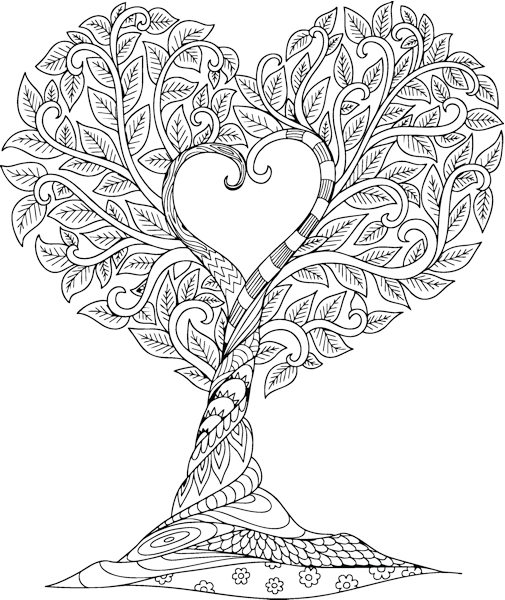 free valentines day coloring pages corel discovery center