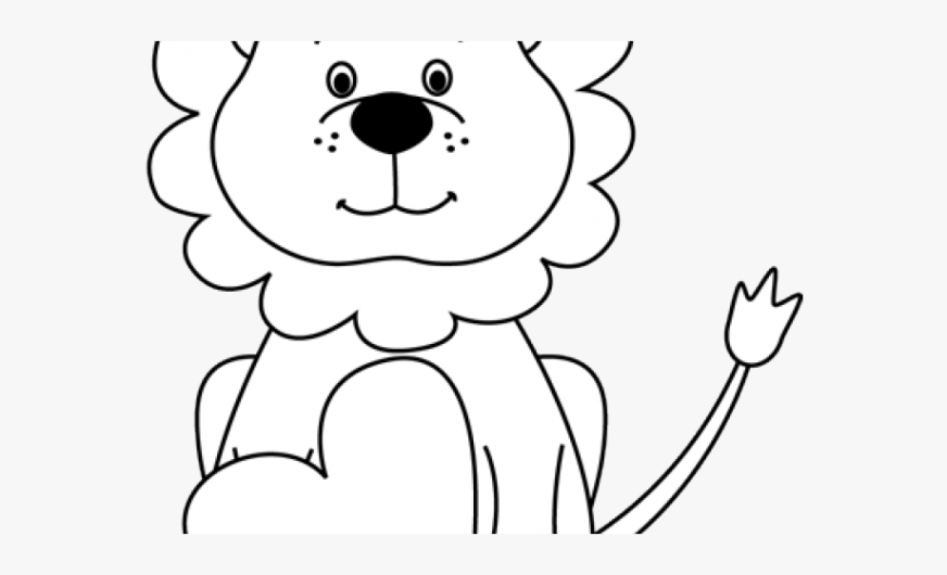 free white lion clipart circus lion coloring pages
