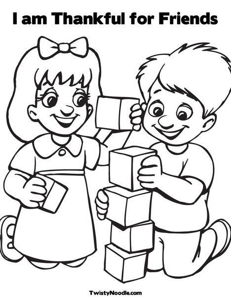 friendship coloring pages for preschool friends coling