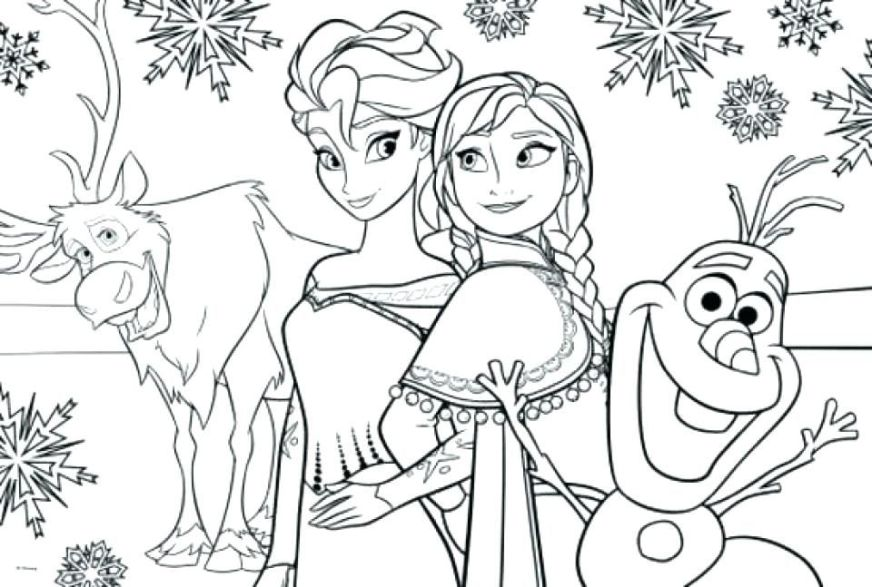 frozen coloring pages and games disney colouring pdf for