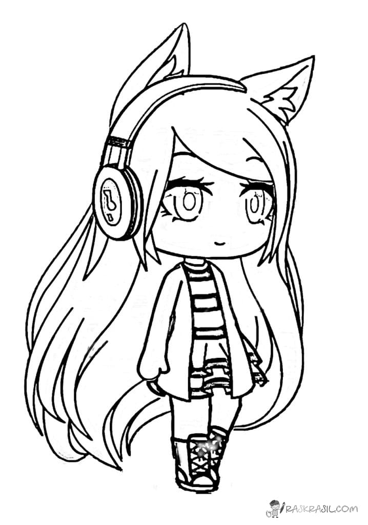 - Gacha Life Coloring Pages Ideas - Whitesbelfast