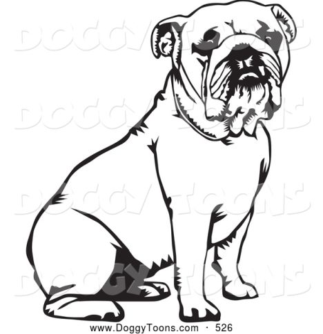 georgia english bulldog coloring pages part 3