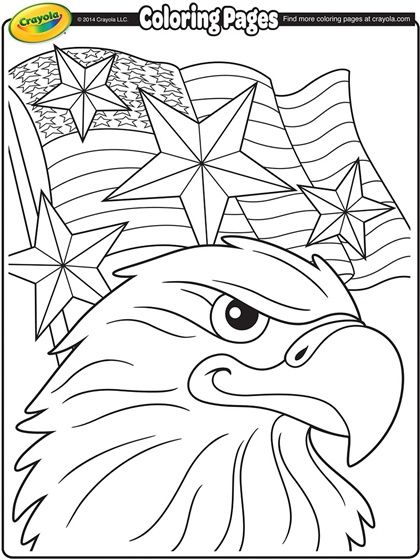 get patriotic with this fourth of july coloring page
