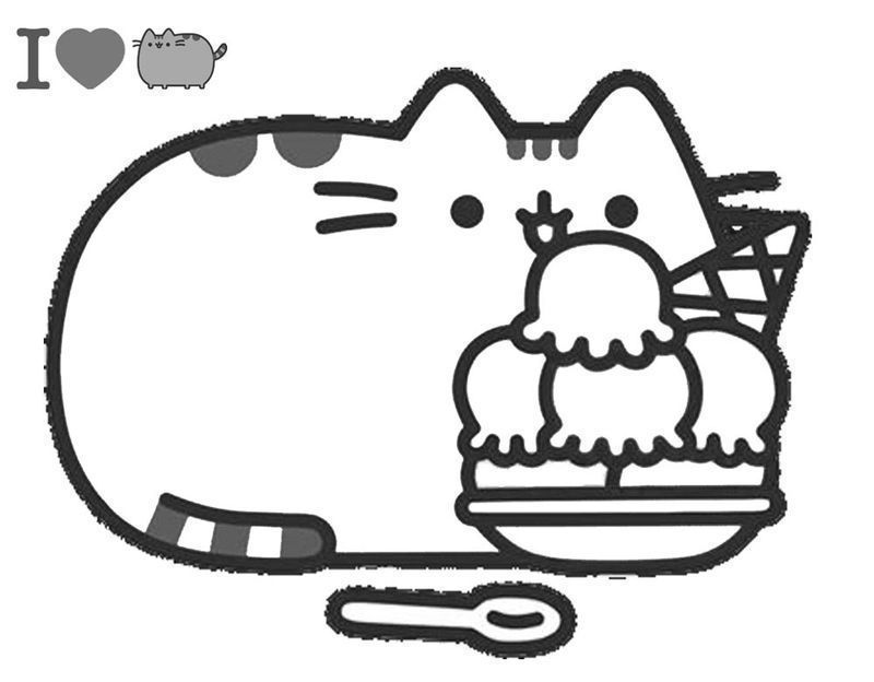 Pusheen Coloring Pages Idea - Whitesbelfast