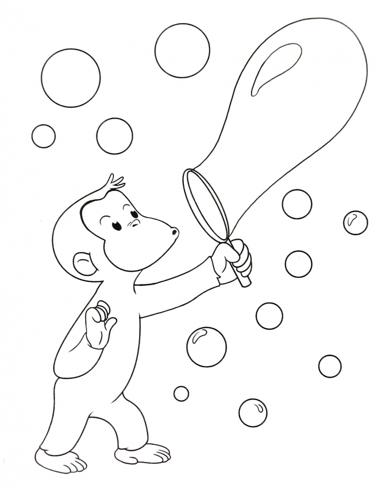 get this curious george coloring pages to print for kids 07516