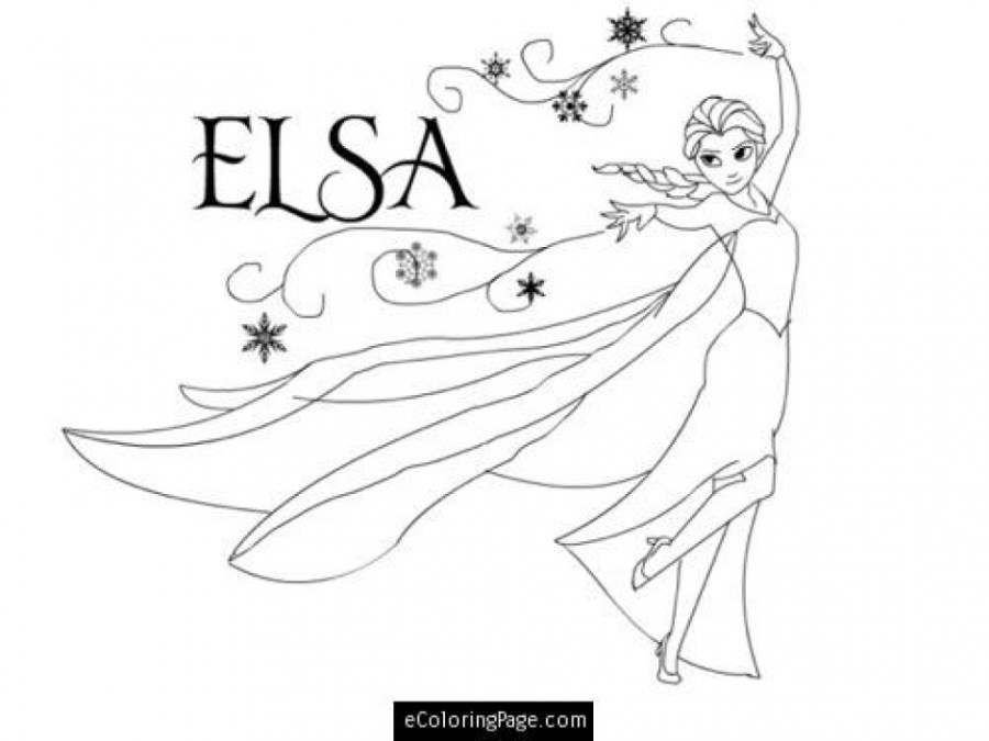 Elsa Coloring Pages Collection Whitesbelfast