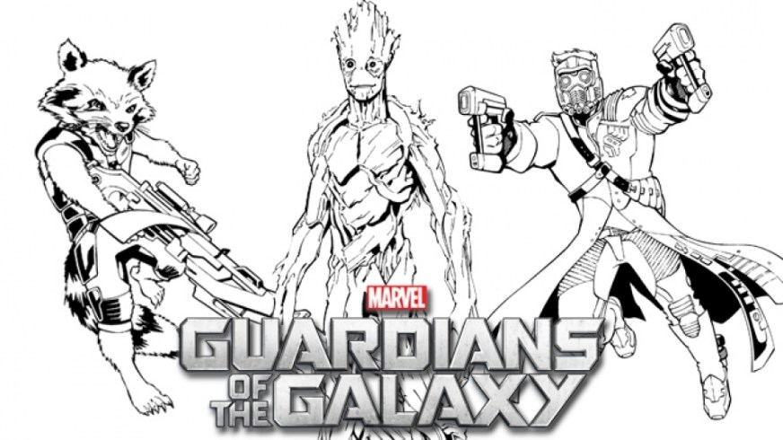 get this guardians of the galaxy coloring pages printable
